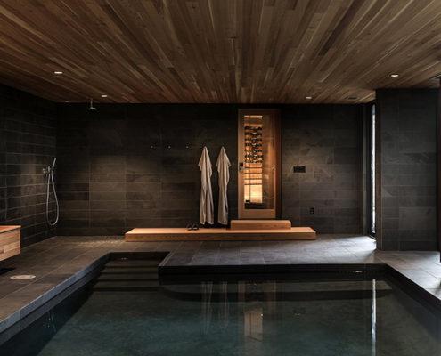 проект Баня с бассейном